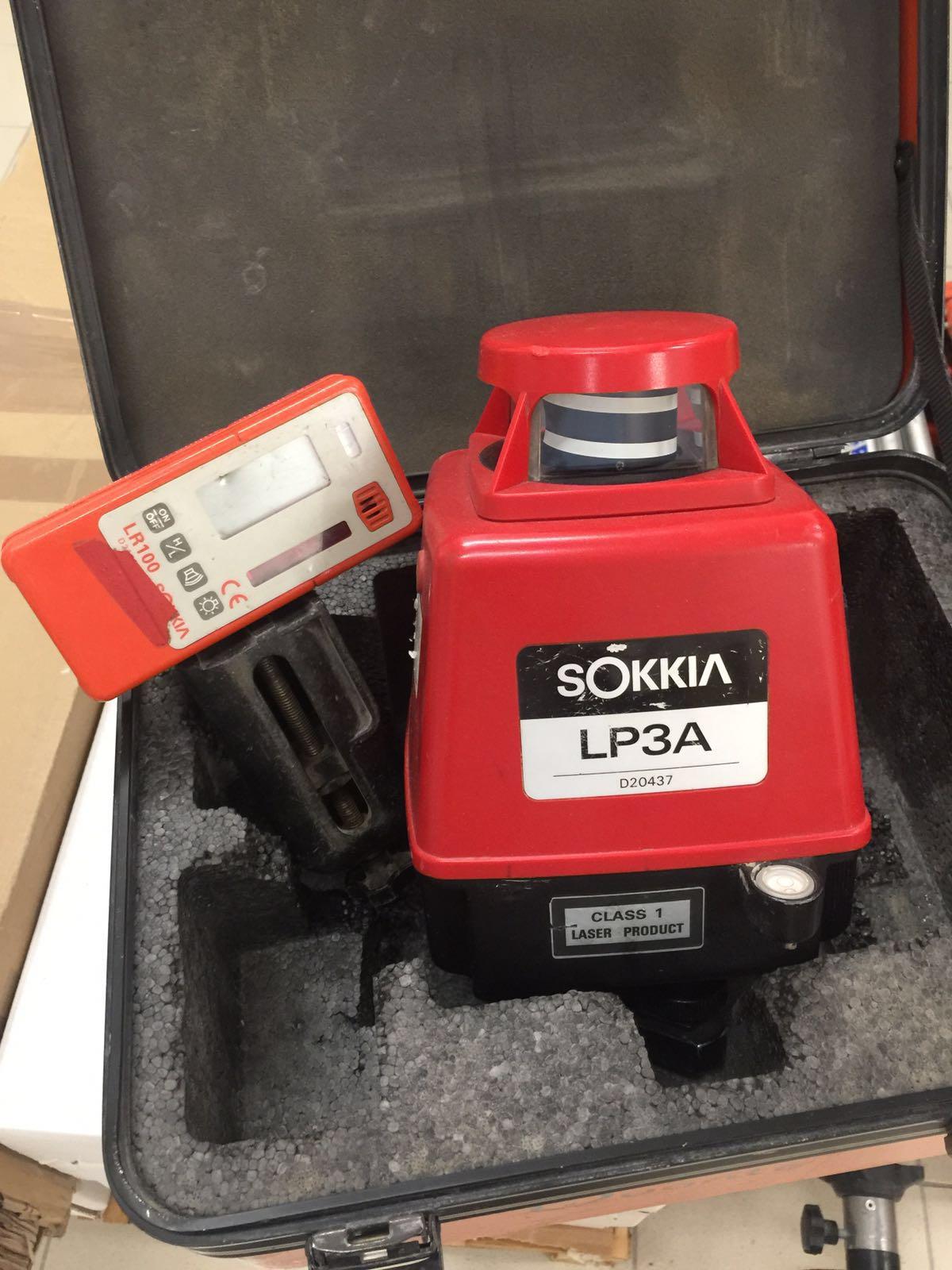 Laser orizzontale sokkia lp3a e a laser - Laser per piastrellisti ...