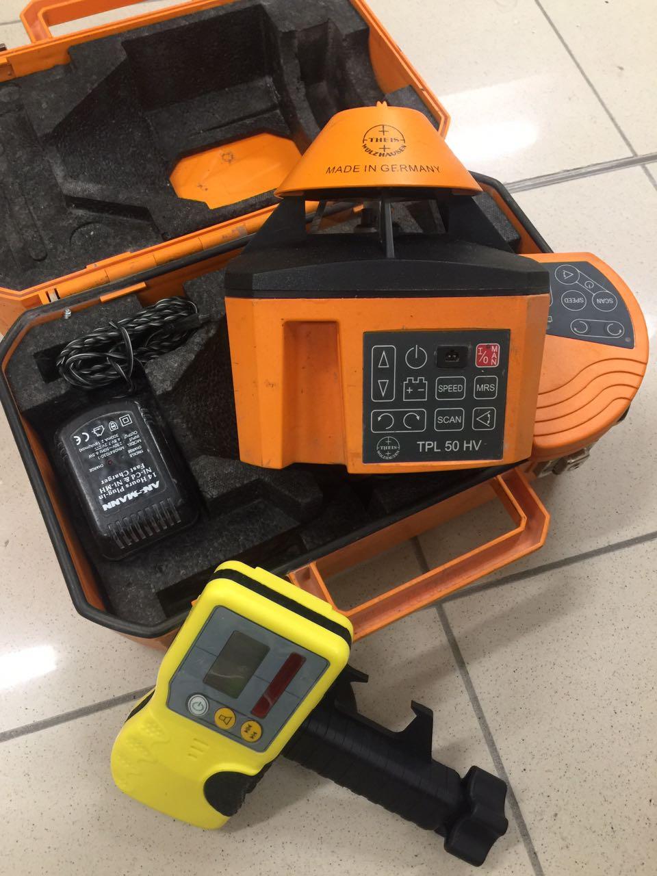 Livello laser multifunzione theis tpl50hv e a laser - Laser per piastrellisti ...